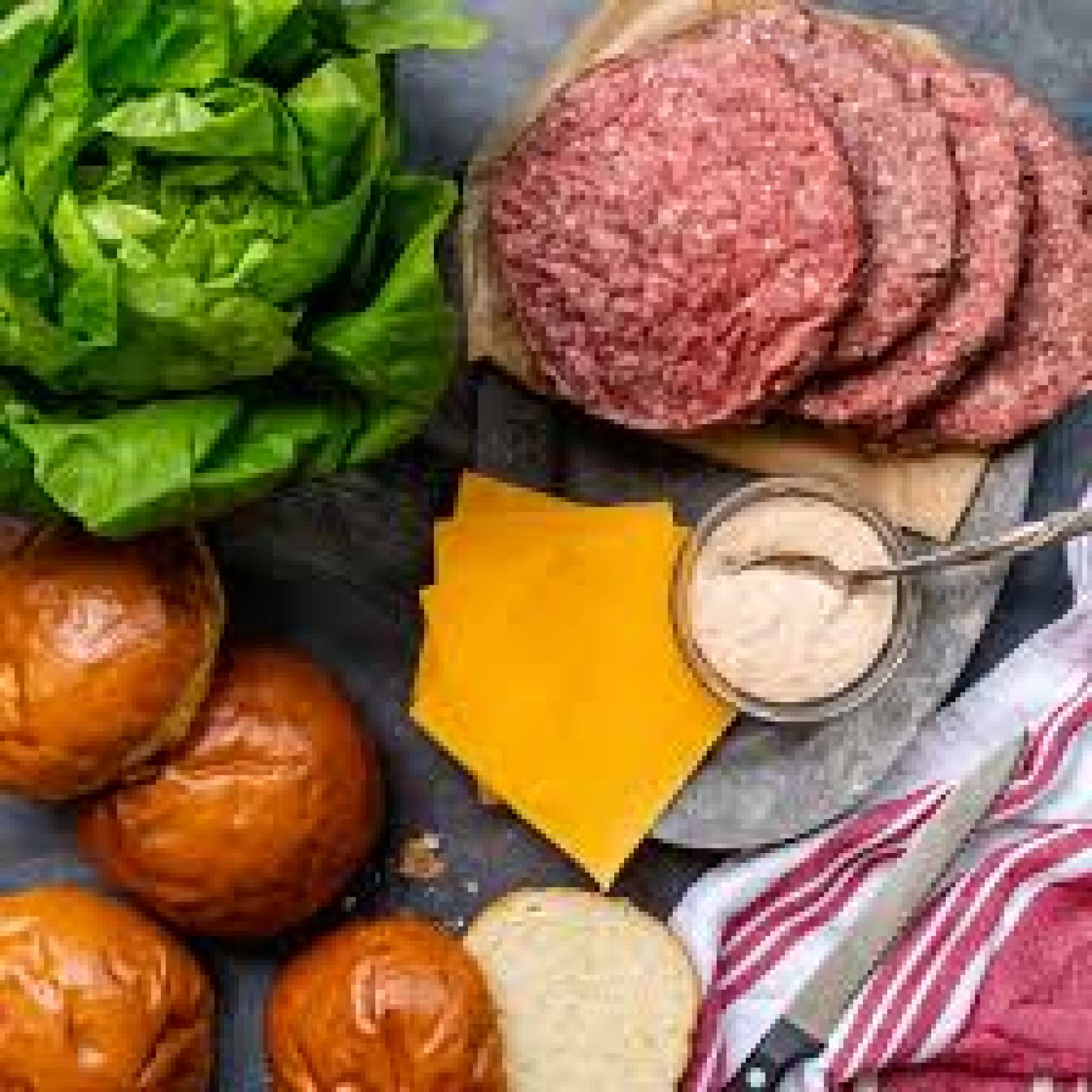 Ready to Cook Wagyu Beef Burger Kit for 4