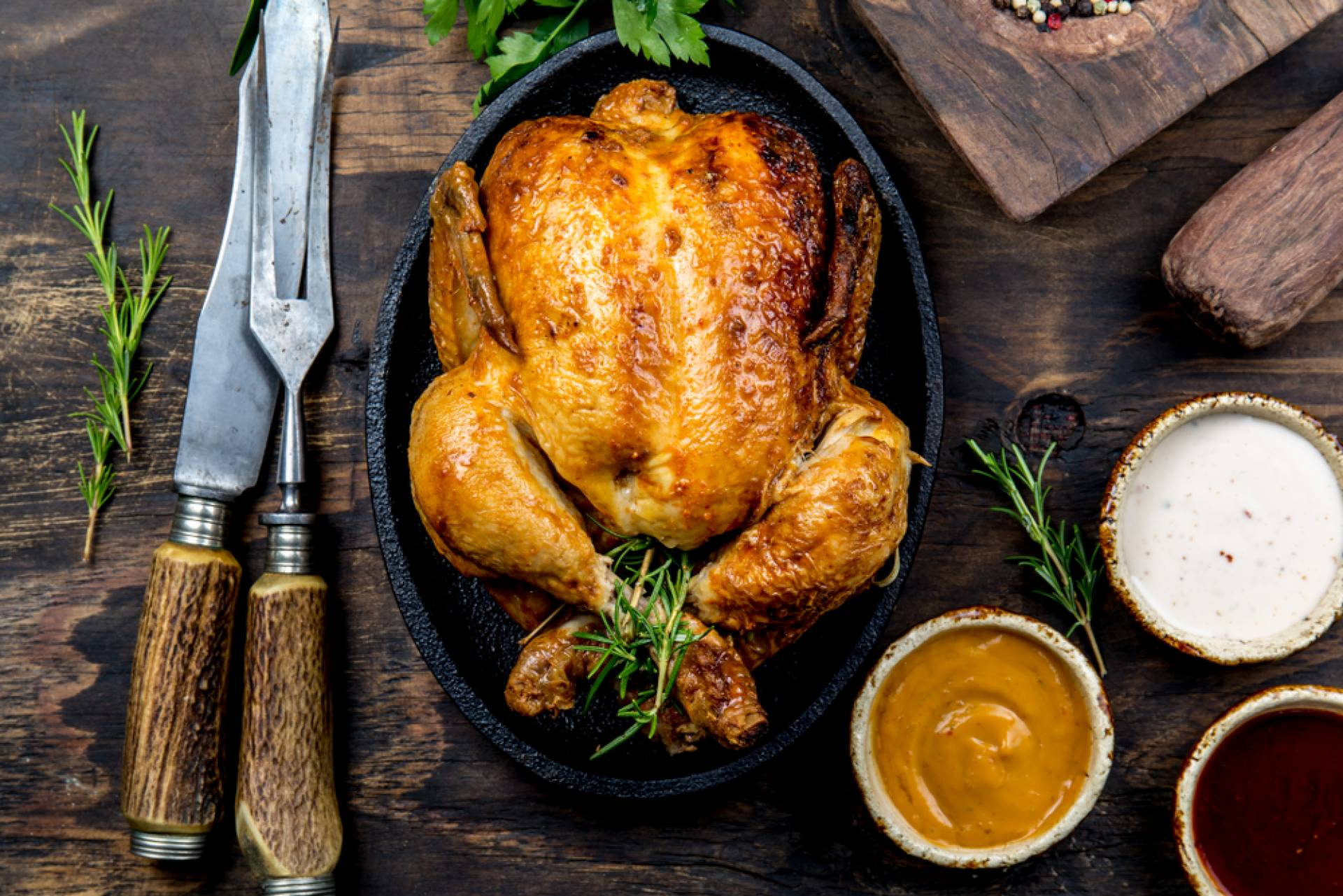 Pumpkin Butter Roasted Chicken
