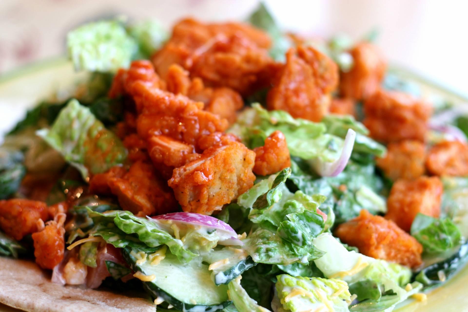 Whole30 Buffalo Chicken Salad